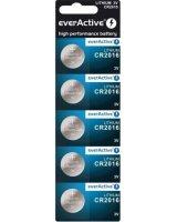 everActive Bateria CR2016 5szt., CR20165BL
