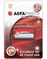 Agfa Bateria AgfaPhoto Heavy Duty 6F22 9V bl./1szt cynkowa
