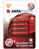 Agfa Bateria AgfaPhoto Heavy Duty R03 bl./4szt cynkowa