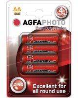Agfa Bateria AgfaPhoto Heavy Duty R06 bl./4szt cynkowa