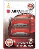 AgfaPhoto Bateria Heavy Duty R14 2szt cynkowa