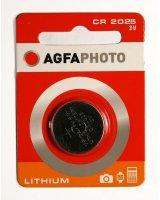 AgfaPhoto Bateria CR2025 1szt., 70115
