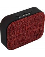 Głośnik Esperanza EP129R SAMBA Z Wbudowanym Radiem FM Czerwony, EP129R - 5901299940389