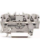 WAGO Złączka szynowa 3-przewodowa 1,5mm2 szara TOPJOBS (2001-1301)