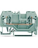 WAGO Złączka szynowa 2-przewodowa 2,5mm2 czarna (280-905)