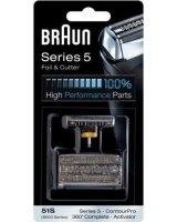 Braun Folia + blok ostrzy 360 COMPLETE 51S Seria 5, FOLIA+BLOKOSTRZY360COMPLE