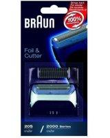 Braun Folia + blok ostrzy do golarek Braun CruZer 2000, Cruzer20S