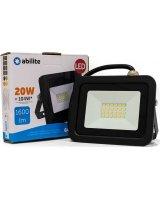 Naświetlacz Abilite NAŚWIETLACZ LED ABILITE IP65 B.ZIMNY 20W/230V OBUD.CZARNA, 5901583548970
