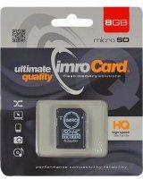 Karta Imro MicroSDHC 8 GB Class 4 (KOM000464)