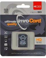 Karta Imro MicroSDHC 4 GB Class 4 (KOM000463)