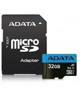 Karta ADATA Premier MicroSDHC 32 GB Class 10 UHS-I/U1 A1 V10 (AUSDH32GUICL10A1-RA1)