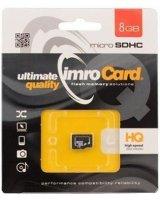 Karta Imro MicroSDHC 8 GB Class 10 (10/8G)
