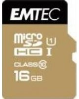 Karta Emtec Elite Gold MicroSDHC 16 GB Class 10 UHS-I/U1 (ECMSDM16GHC10GP)