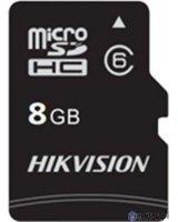Karta Hikvision MicroSDHC 8 GB Class 10 U1 (HS-TF-C1(STD)/8G/Adapter)