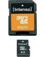 Karta Intenso MicroSDHC 4 GB Class 4 (3403450)