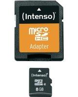 Karta Intenso MicroSDHC 8 GB Class 4 (3403460)