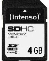 Karta Intenso SDHC 4 GB Class 10 (3411450)