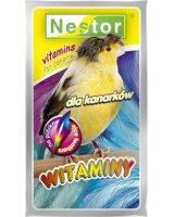 Nestor WITAMINY 20g KANAREK PIÓRKA, 001034