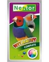 Nestor Witaminy dla małych ptaszków egzotycznych complete 20g, 25066