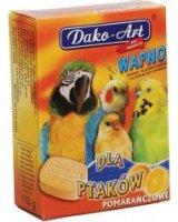 Dako-Art Wapno Dla Ptaków - Pomarańcza Duża Kostka 1szt. 110g, 30206