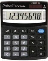 Calculator Semi-Desktop Rebell SDC408, RE-SDC408 BX