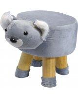 Saska Garden Pufa krzesełko taboret koala 28x28cm, 1019314