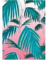 Museums & Galleries Karnet B6 z kopertą Sunset Palms, 280778