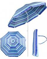 Royokamp Parasol plażowo balkonowy niebieski 180 cm, 1036199