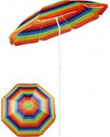 Royokamp Parasol plażowo balkonowy wielokolorowy 180 cm, 1036243
