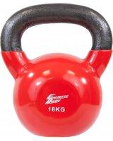 Eb Fit kettlebell 18kg czerwony, 586262