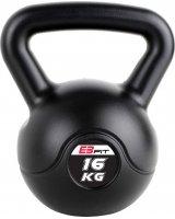 Victoria Sport Hantla kompozytowa Kettlebell czarna 16 kg
