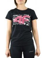 4f 4F Girl's T-shirt HJL20-JTSD003A-21S czarne 158