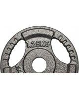 Eb Fit obciążenie hammertone 1,25 kg fi28 kolor czarny, 330959