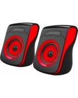 Głośniki komputerowe Esperanza Flamenco Czarno-czerwone (EP140KR), EP140KR - 5901299940686