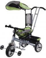 Sun Baby Rowerek trójkołowy Luxus Trike - zielony (XG18819G/Z), 5907478648664