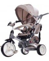 Sun Baby Rowerek trójkołowy Little Tiger - beżowy, 5907478648589