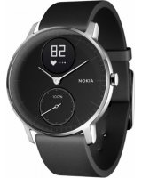 Withings Activité Steel HR, HWA03-40black-All-Inter