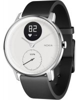 Withings Activité Steel HR, HWA03-36white-All-Inter