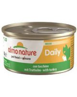 Almo Nature DAILY KOT 85g MUS INDYK, 154