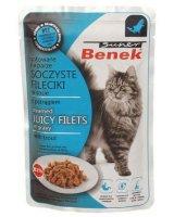 CERTECH Super Benek Saszetka Filet W Sosie Z Pstrągiem 85g, VAT009776