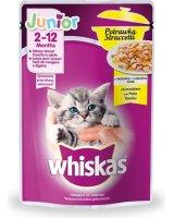 Whiskas Junior kurczak, potrawka w galaretce - saszetka, VAT011674