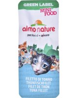 Almo Nature ALMO NATURE Green Label Mini Food Filet tuńczyk 3g