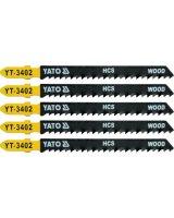 Yato Brzeszczot do wyrzynarki typ T HCS do drewna 5cz. TPI8 YT-3402