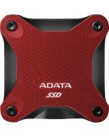 Dysk zewnętrzny ADATA SSD SD600Q 240 GB Czerwony (ASD600Q-240GU31-CRD)