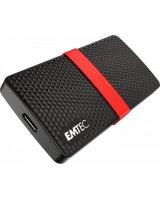 Dysk zewnętrzny Emtec SSD Portable X200 128 GB Czarno-czerwony (ECSSD128GX200)