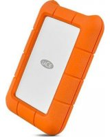 Dysk zewnętrzny LaCie Dysk zewnętrzny HDD LaCie RUGGED STFR1000800_BULK (1 TB, 2.5'', USB-C, kolor pomarańczowy, bulk) UWAGA !!! dysk recertyfikowany. 2 lata gwarancji. Pro