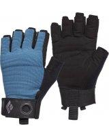 Black Diamond Rękawice wspinaczkowe Crag Half-Finger Gloves niebieskie r. S (BD8018644002SM_1)