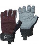 Black Diamond Rękawice wspinaczkowe Women's Crag Half-Finger Gloves bordowe r. M (BD8018686018MD_1)