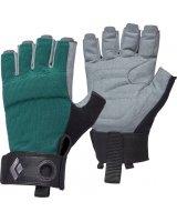 Black Diamond Rękawice wspinaczkowe Women's Crag Half-Finger Gloves niebieskie r. L (BD8018683028LG_1)