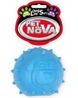 PET NOVA TPR Snackball Blue 6.5cm, VAT009607